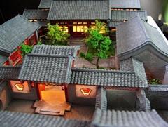 山西古建沙盤模型