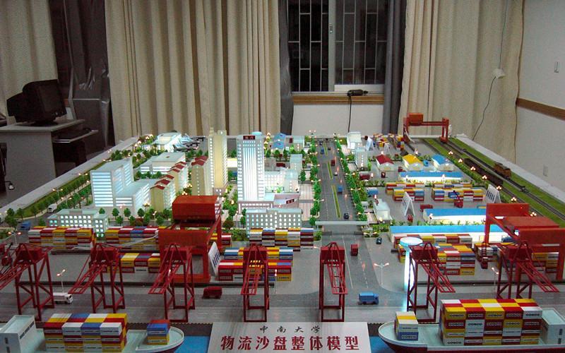 天津港口物流動態模型 1