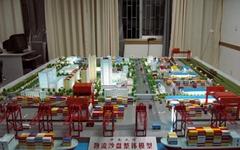 天津港口动态沙盘模型