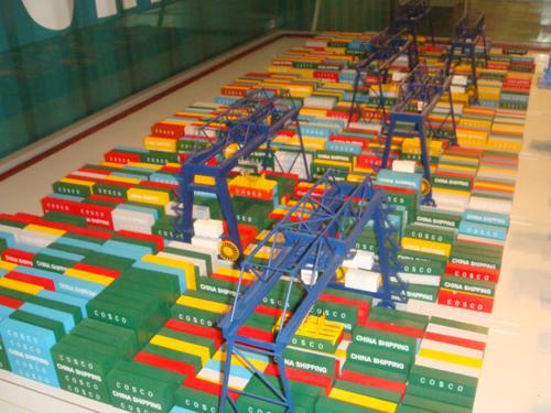 天津港口物流動態模型 4