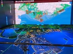 上海多媒體沙盤模型