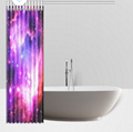 Waterproof Polyester Fabric Custom Shower Curtains 60(W) x 72(H) 1
