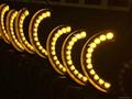 戶外防水12W金黃光瓦楞燈