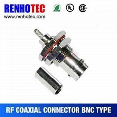 Waterproof BNC Jack For Cable Rg179 RG316