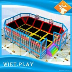 Large Indoor Trampoline Park