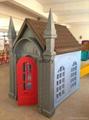 Outdoor gargen children playhouses 2