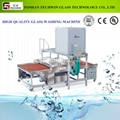 Manufacture supply quality horizontal glass washing machines and dryer