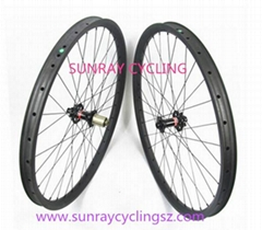 27.5er Full Carbon Fiber Mountain Bike Wheels Carbon Bicycle Wheels