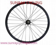 29er carbon clincher wheels,Carbon fiber