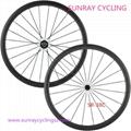 Sunray Carbon Road Bike Wheels 38mm