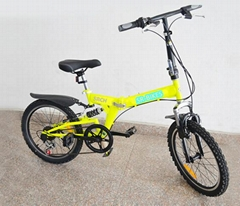 2017 New foldable bicycle