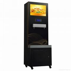 太空1号广告直饮水机直饮水广告一体机多媒体饮水机数字播放
