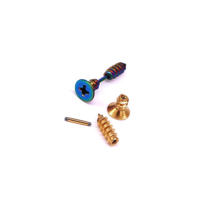 不锈钢螺丝耳钉穿刺耳 3