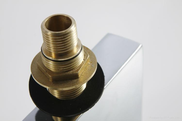 LED bathroom basin Waterfall Faucet,basin tap 3