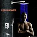 LED mixer Shower Head Mixer Bathroom