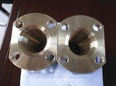 供应石材机械用铸造铜螺母