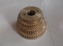 蜗轮蜗杆减速机配件铜蜗轮