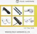 自动化设备高端拉手橱窗铝合金磨砂拉手