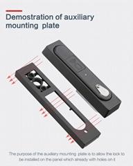 物联网智能远程蓝牙指纹密码门锁 光交箱远程扫码门锁