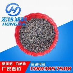 Zeolite filter material