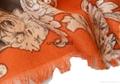 女士冬季保暖百搭印花羊毛围巾披肩 5