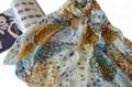 factory wholesale 70*180cm winter warm woolen printed scarf shawl