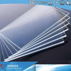 Tempered Glass With Construction