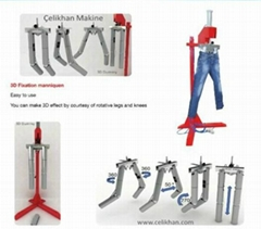 Jeans Wrinkle Machine for jeans finishing process