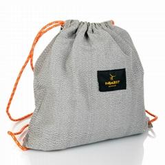 Cut resistant bag. Level 5. Tourist travel cut resistant bag. Ultra-high level c