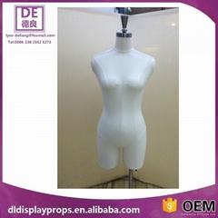 厂家直销 女半身包布模特道具服饰展示道具