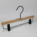 Wooden hanger beech wood high quality 2