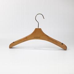 高档荷木女装展示衣架木衣架展示道具