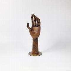 复古色榉木展示木手女装展示关节手