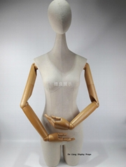 DLW824 Female half body L size display mannequin