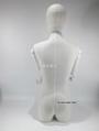 包布女半身模特配白色木手臂女装展示模特 4
