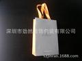 礼品袋铜版纸印刷银饰手提袋