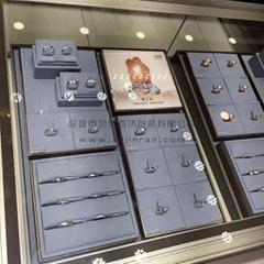 全金属边框珠宝钻石道具定制