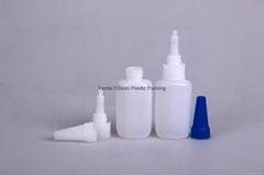 the bottle for cyanoacylate glue