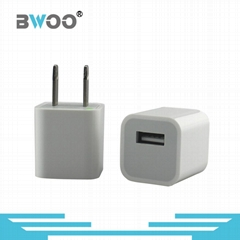 Single USB Power Adapter Charger for Smart Phone
