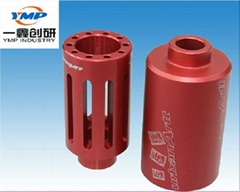 customized cnc colour anodized precision machined part