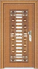 YDF-8091豪華無縫單門(玫瑰金自由紋)