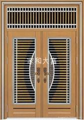YDF-8090豪華對開門(玫瑰金拉絲)