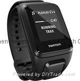 TomTom Spark Cardio+Music Large HR Activity Tracker GPS Watch  1