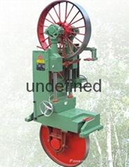 Band saw roller press