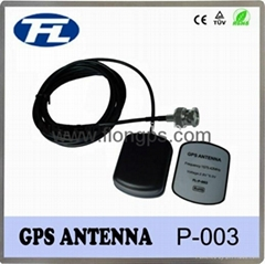 high quality 1575.42MHz frequency GPS antenna with SMB male connector
