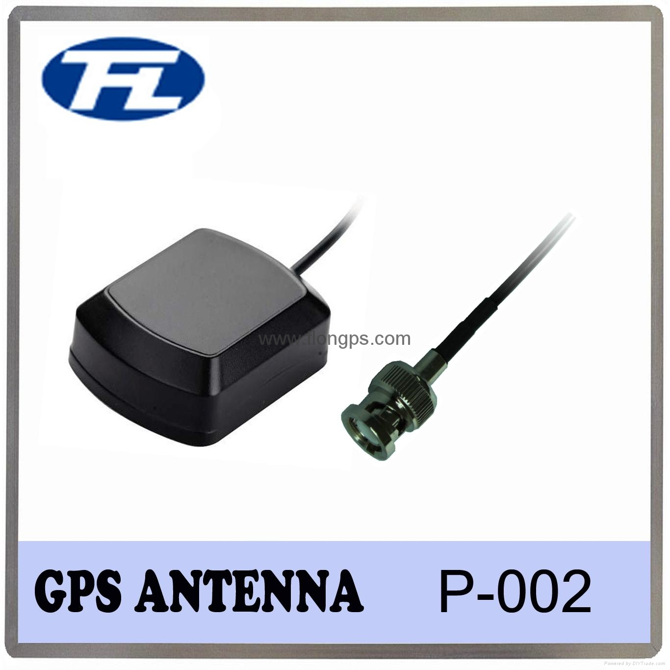 Antenna Manufacturer TNC Male Connector Magnetic Mount RG174 3M cable 3dBi gps a 5