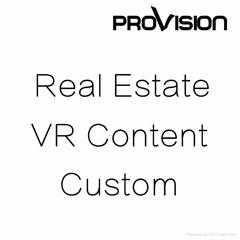 Real Estate VR Content Custom
