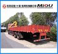 dongfeng 6x4 folding type truck crane