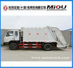 dongfeng 4x2 10CBM compactor truck CSC5128ZYSE for sale