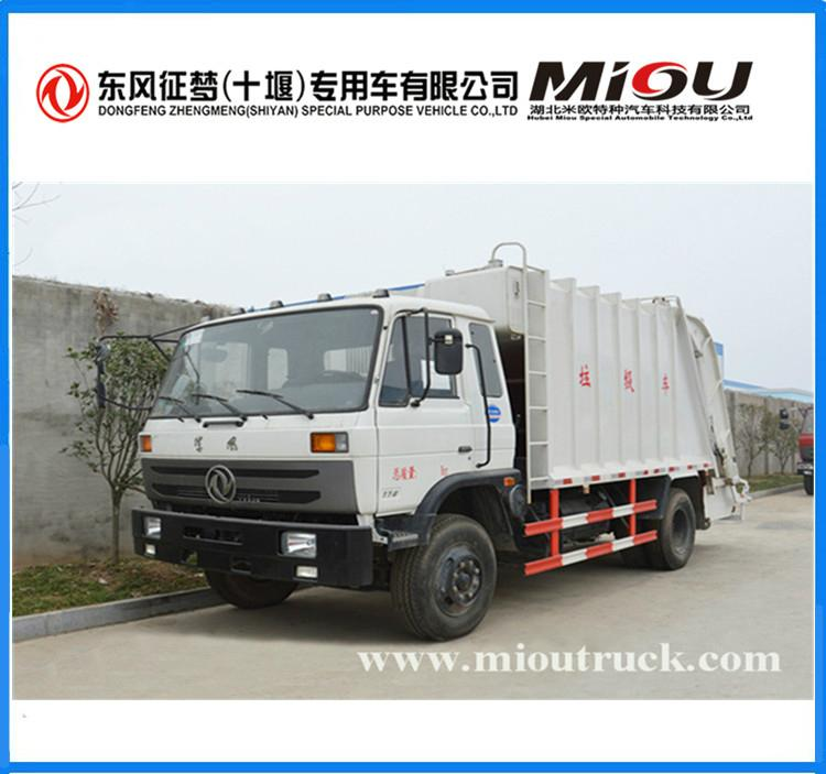 dongfeng 4x2 10CBM compactor truck CSC5128ZYSE for sale 3